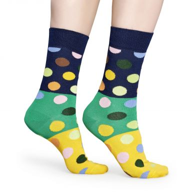 Happy Socks Big Dot Block Sock