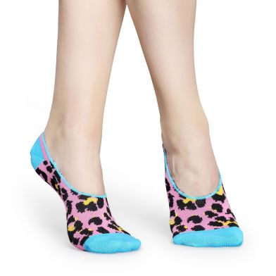 Happy Socks Leopard Liner Sock