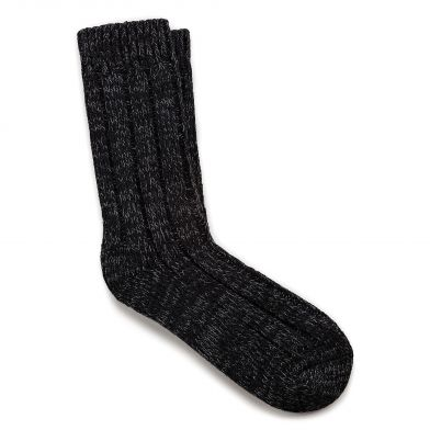 Birkenstock Cotton Twist Ladies Black Sock