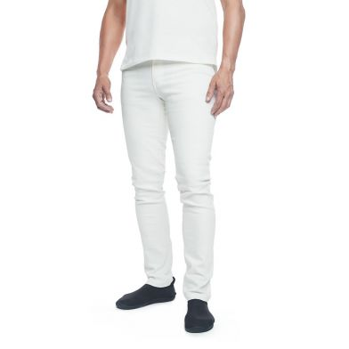 WAW Mens Stretch Jeans Natural White