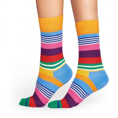 Happy Socks Multi Stripes Sock